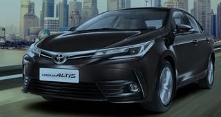 Những thay đổi mới của Toyota Corolla Altis 2017